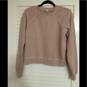 J.Crew XS 100% Cotton Sweatshirt